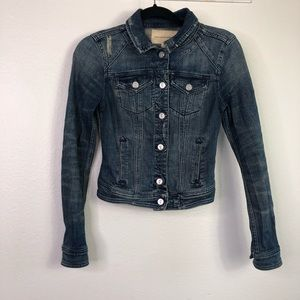Anthro Pilcro And The Letterpress Denim Jacket
